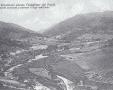 La vallata del Brasimone prima della costruzione della diga.