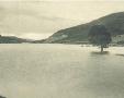 Vista sul lago Brasimone.