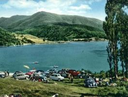 Turismo al Bacino del Brasimone negli anni '60.